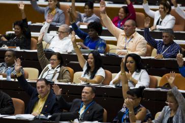 Parlament in Kuba