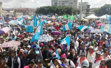 Am 20. September fanden in Guatemala erneut große Demonstrationen in der Hauptstadt und in vielen Teilen des Landes gegen Korruption und für den Rücktritt von Präsident Morales statt