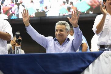 Gewann die Wahlen 2017 mit dem Versprechen auf Kontinuität der Bürgerrevolution: Ecuadors Präsident Lenín Moreno