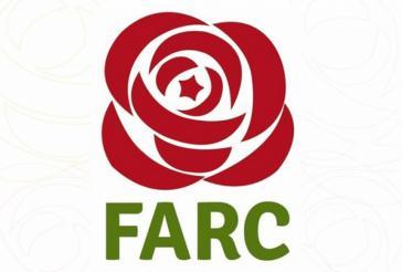 Logo der Partei Alternative Revolutionäre Kraft des Volkes (Farc) in Kolumbien