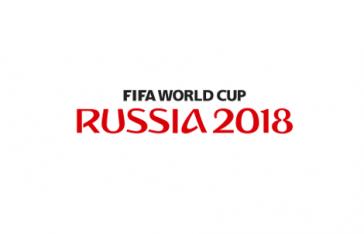 Logo der FIFA-WM der Männern2018 in Russland