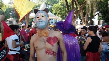 """Auch beim Karneval in Brasiliens Metropole Rio de Janeiro: Unterstützung für Lula da Silva, """"den Tapferen"""" (valente)"""