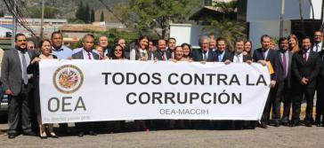 """""""Alle gegen die Korruption"""": Das Team der Internationalen Unterstützungsmission gegen Korruption und Straflosigkeit in Honduras"""
