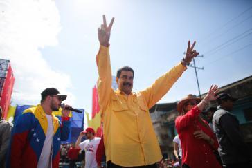 Der amtierende Präsident von Venezuela, Nicolás Maduro, gibt sich wenige Tage vor der Wahl siegessicher