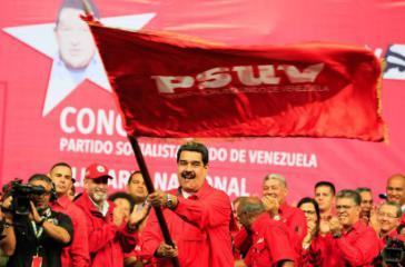Der amtierende Präsident von Venezuela, Nicolás Maduro, wurde beim Konkgress der PSUV zum Kandidaten für die Präsidentschaftswahl gekürt