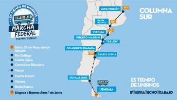 Am heutigen Freitag sollen mehrere Protestmärsche gegen die Politik der Regierung Macri in Buenos Aires ankommen, unter anderem aus Ushuaia in Patagonien