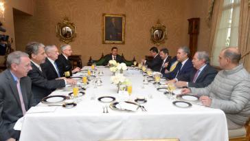 In Kolumbien war die US-Delegation um Mattis der erste offizielle Besuch von Vertretern der US-Regierung beim neuen Präsidenten Iván Duque