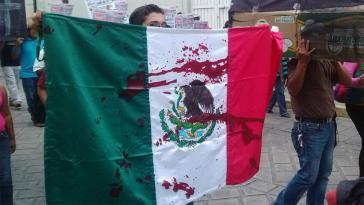 Protest gegen die zunehmende Gewalt in Mexiko