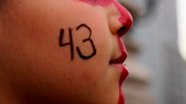 Protest in Mexiko gegen die schleppenden Ermittlungen im Fall der 43 verschwundenen Studenten