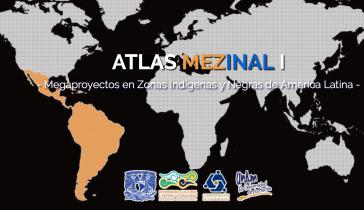 Startseite des Forschungsprojektes an der Unam in Mexiko