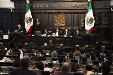 Der Senat in Mexiko, hier in einer Aufnahme aus dem Jahr 2014