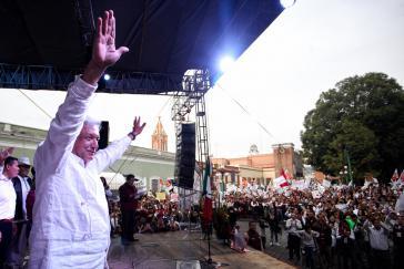 Wahlsieger López Obrador