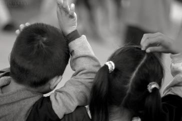 Migrantenkinder aus Mittelamerika (Symbolbild)