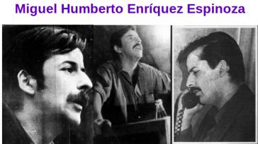 Miguel Enriquez, Mitbegründer und Generalsekretär der MIR in Chile, wurde am 5. Oktober 1974 ermordet