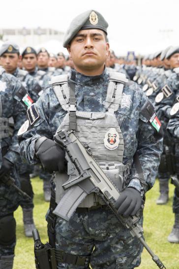 Militärpolizisten in Mexiko