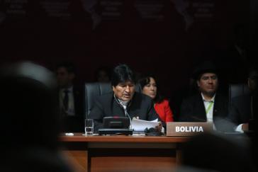 Bolivien hat turnusgemäß den Vorsitz der Unasur übernommen