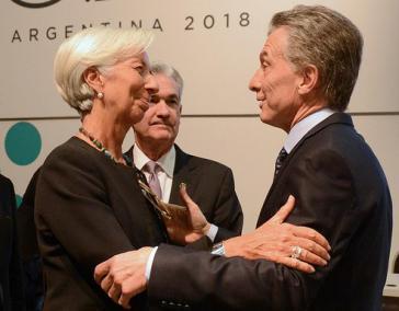 Argentiniens Präsident Maurcio Macri musste einmal mehr die IFW-Chefin Christine Lagarde um Hilfe bitten, während sich der argentinische Peso auf Sturzflug befindet