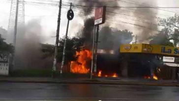 Angriff von Regierungsgegnern auf den Radiosender Tu Nueva Radio Ya in Nicaragua