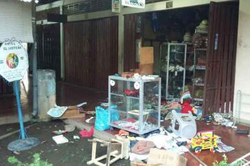 Proteste und auch der Einsatz von Gewalt gehen in Nicaragua weiter, wie hier in der Stadt Masaya