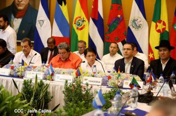 Das 17. Ordentliche Treffen des Politischen Rates der Bolivarischen Allianz (Alba) fand in der Hauptstadt von Nicaragua, Managua, statt