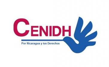 Logo des Nicaraguanischen Zentrums für Menschenrechte (Cenidh). Die von ihm geplante Demonstration gegen die Regierung Ortega am Tag der Menschenerchte wurde verboten