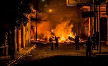 Die hegemonialen Meinungsmacher verbargen die Grausamkeit einiger Proteste in Nicaragua