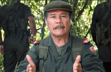 Nicolás Rodríguez Bautista. Die Regierung von Kolumbien will die Verhaftung des ELN-Kommandanten
