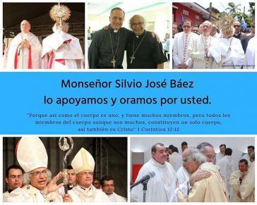 Über den Kurznachrichtendienst Twitter bekundet die Erzdiözese von Managua ihre Unterstützung für Weihbischof Báez