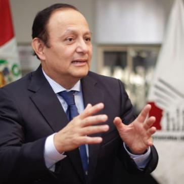 Der Ombudsmann von Peru, Walter Gutiérrez, hält die Begnadigung Fujimoris für unrechtmäßig