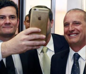 Haben sich auch schon vor der Kamera gut verstanden: Sergio Moro (li.) und Onyx Lorenzoni (re.)