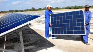 In Kuba sind nun alle alle Haushalte mit Strom versorgt, vornehmlich durch Solarpanele