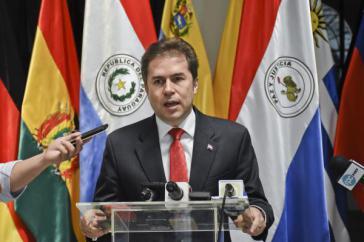 Paraguays Außenminister Luis Castiglioni