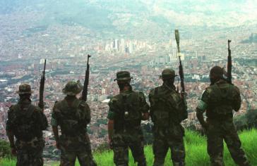 In einigen Regionen Kolumbiens ähneln die paramilitärischen Banden einer Besatzungsarmee