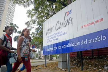 Kubanerinnen und Kubaner waren zur Wahl aufgerufen