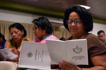 Kubas Parlament hat den Entwurf zur Verfassungsreform am 22. Juli gebilligt. Vom 13. August bis zum 15. November wird er im Rahmen einer Volksaussprache diskutiert, bevor dann in einem Referendum entschieden wird