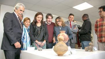 Die Gegenstände aus dem Fall Kuchenmüller wurden jetzt vom Kulturministerium in Ecuador präsentiert