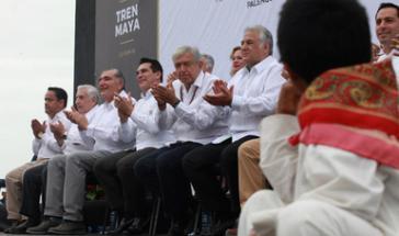 Der neue mexikanische Präsident López Obrador setzt sich für den Bau einer umstrittenen Zugstrecke im Südosten des Landes ein