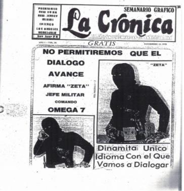 """""""Dynamit: Die einzige Sprache, in der wir reden werden"""": Gegen den Dialog gerichtete Propaganda der konterrevolutionären Gruppe Omega 7"""
