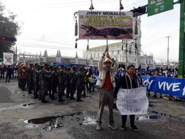 Die Proteste in Guatemala gegen Präsident Jimmy Morales und die Korruption nehmen weiter zu
