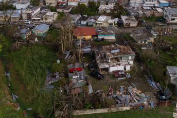 Hurrikan Maria beschädigte auf Puerto Rico 250.000 Häuser