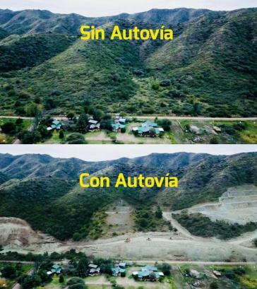 76 Prozent der geplanten Autobahn würden durch Naturschutzgebiete verlaufen