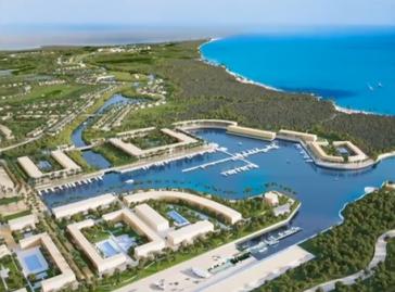 """Teil des geplanten Tourismusprojekts """"Punta Colorada Golf & Marina Cuba"""" (Screenshot)"""