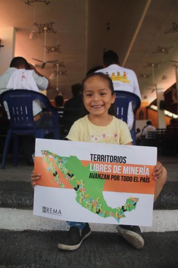 """Rema setzt sich in Mexiko für """"Territorien frei von Bergbau"""" ein"""