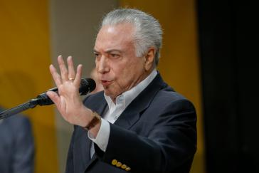 Der brasilianische De-facto-Präsident Michel Temer hat weitere Militäreinheiten an die Grenze zu Venezuela geschickt