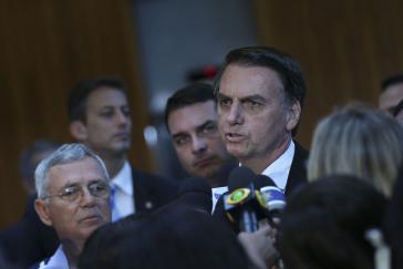 Jair Bolsonsaro hat weitere Minister für sein künfitges Kabinett bekannt gegeben, darunter auch wichtige Militärs
