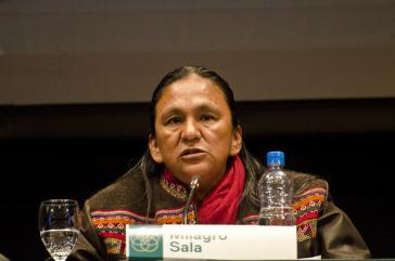 Für die indigene Aktivistin Milago Sala hat die Staatsanwaltschaft 22 Jahre Haft gefordert