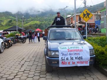 San Lorenzo am Tag des Volksentscheids