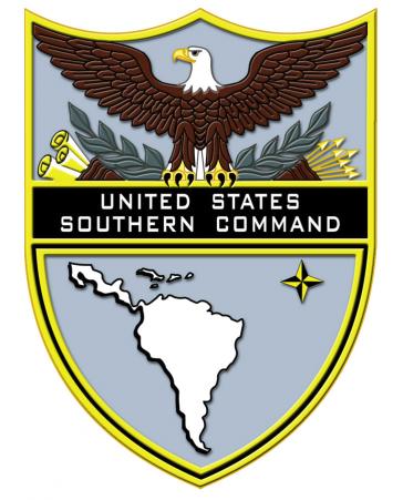 Emblem des Südlichen Kommandos der USA (Southcom)