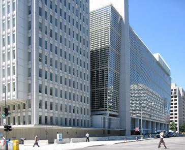 Hauptquartier der Weltbank-Gruppe in Washington, USA