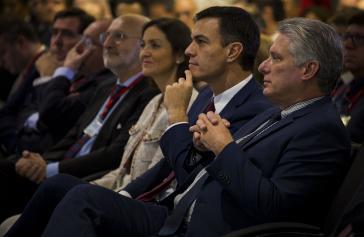 Ministerpräsident Sánchez und Präsident Díaz-Canel